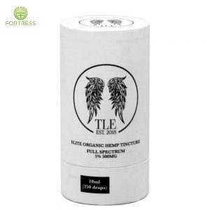 Custom  packaging paper pube For 10ml organic hemp tincture