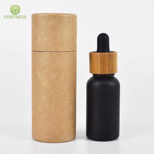 2021 Fortress 100% biodegradable natural kraft paper tube box