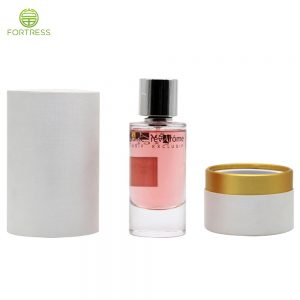 Manufacturer Supply Eco-friendly Custom Packaging paper cylinder for perfume tube