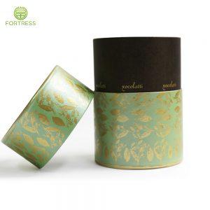 handmade fashionable glitter empty paper cardbaord makeup brush tubes boxes