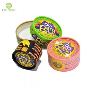 Manufactured Bright Printing Small Size Food Grade Paper Tubes with Alu Foil Coating