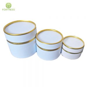 OEM full color printed Luxury round paper Eyelashes packaging paper tube boxes