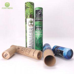 Biodegradable cardboard CBD paper tube for pre roll/vape