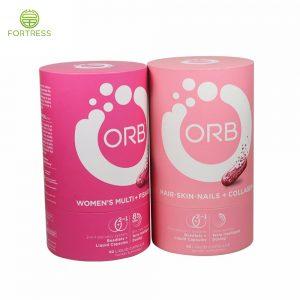 Custom food paper tube packaging