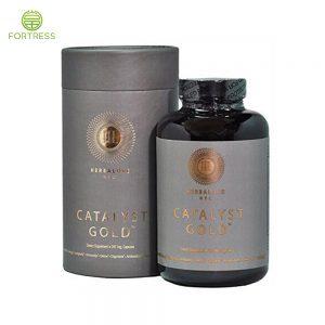 Custom paper tube packaging for supplement bottle from China supplier