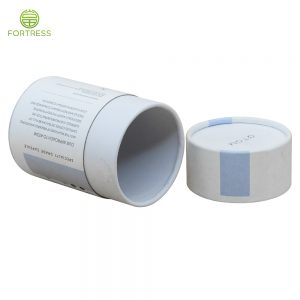 High Quality Eco Friendly material round cylinder paper cardboard Health Care tube packaging
