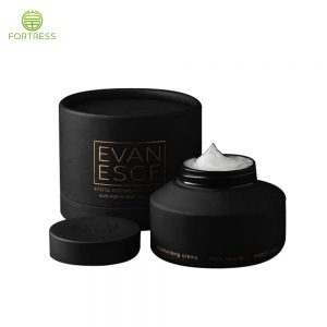 Eco friendly cosmetic packaging cardboard tube containers for Face cream jar