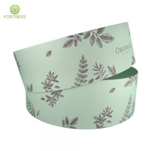 Round Chocolates Package Gift Paper Boxes for Cake Packing with Transparent Window on Top Lids