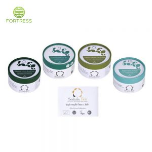High quality new design Tea bag containers box with Aluminum foil