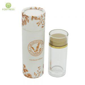 Custom Essential Oil Packaging Paper Tube For Cosmetic Packaging