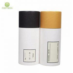 Fancy paper tube biodegradable essential oil tube packaging for essential oil bottle