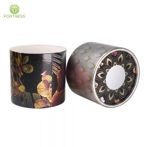 Custom Printing eco Food Grade Paper Tube Packaging Recycled Round Paper Ice Cream Packages with Coating Inside