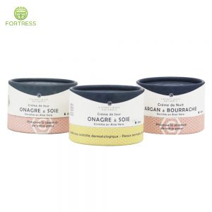 Cosmetic Mask Cream Skin Care Product Paper Tube Packaging with EVA insert