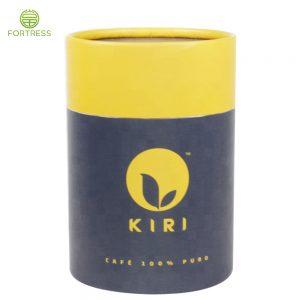 OEM Full Color Printed Hard Cardboard Tube Box Food Grade Paper Box In China